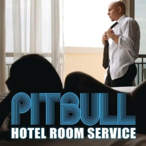 "Pitbull is #1 on The Dean's List this week with ""Hotel Room Service"""