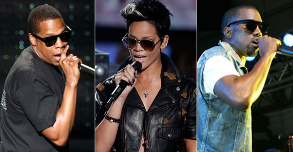 Jay-Z + Rihanna + Kanye West = Top 40 hit guaranteed