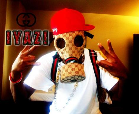 iyaz Gucci gas mask
