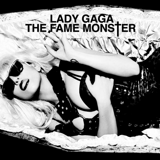 The Fame Monster black n white