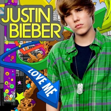 "Click Justin Bieber to play ""Love Me"""