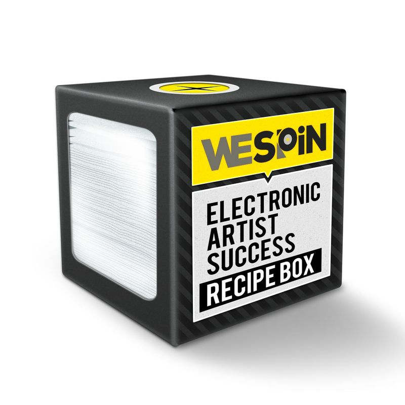 WeSpin Box Cover (Electronic Artist Success Recipe Box)